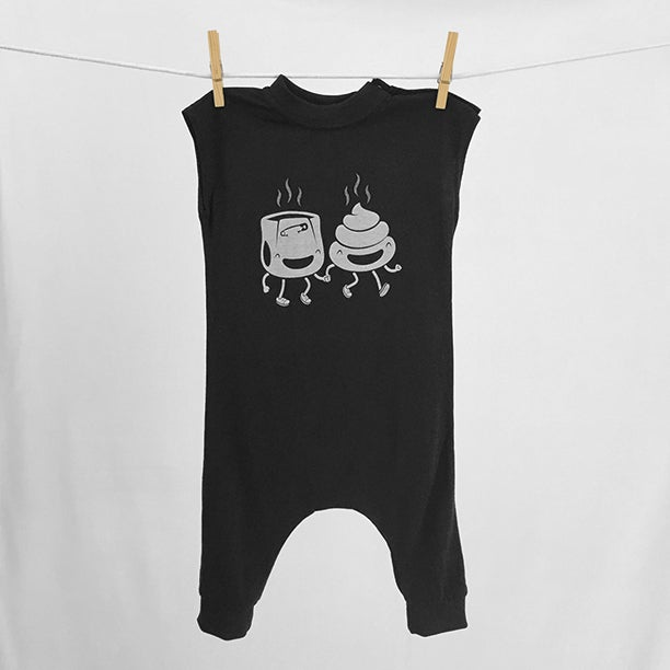 "Image of ""PFFs"" Black Bodysuit"
