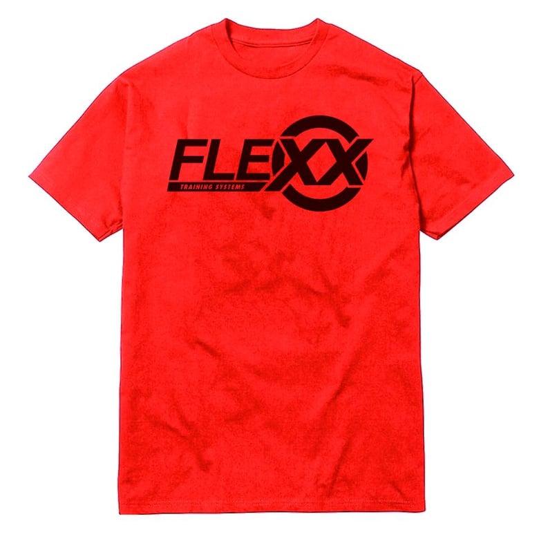 Image of Red/Black Men's Flexx Tee