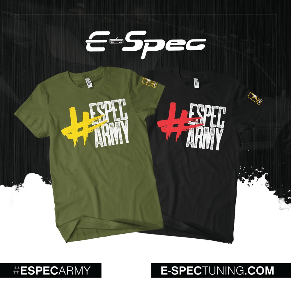 Image of #EspecArmy T-Shirt | Military Green