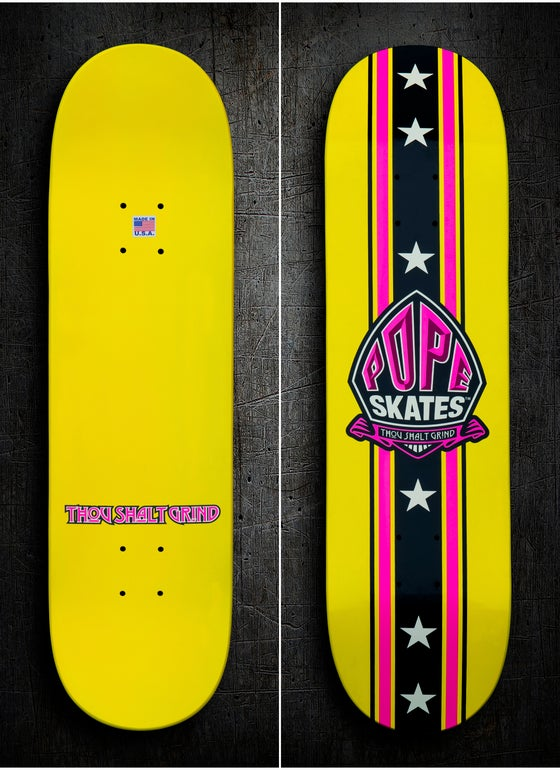 Image of Yellow & Magenta Pop Deck