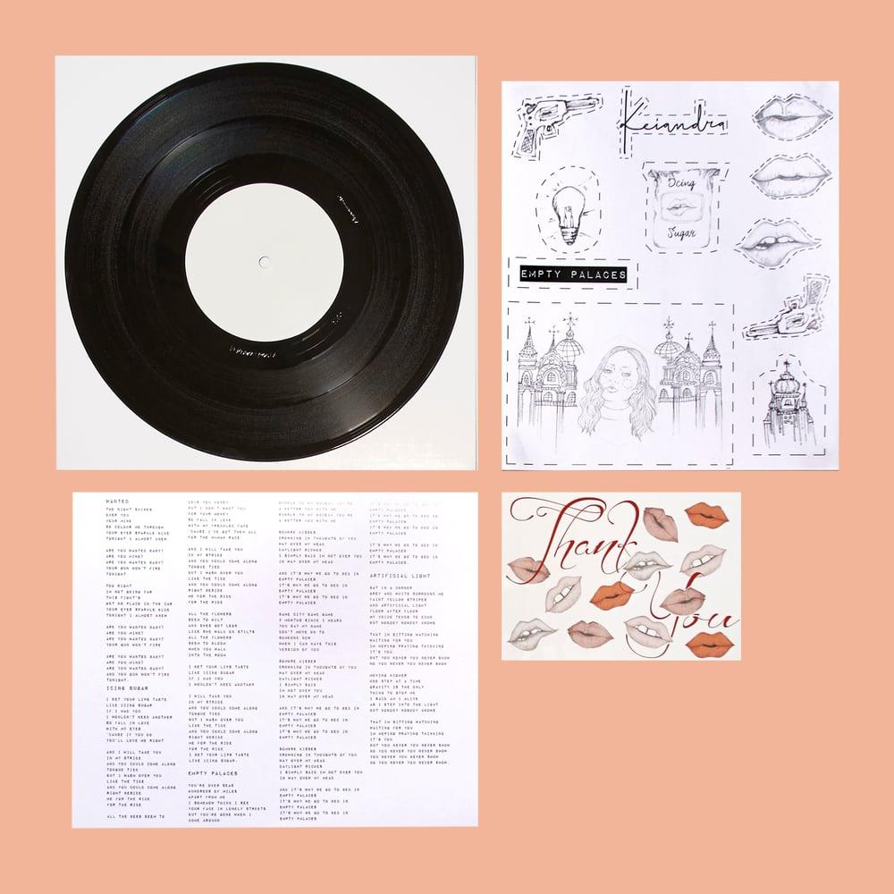 "Image of ""Empty Palaces EP"" 10 inch Vinyl"