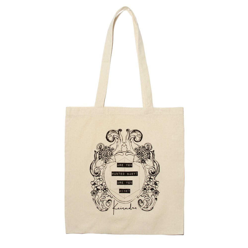 "Image of ""Wanted"" Lyric Tote Bag"