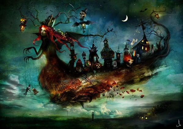 """""""Mist Eerie"""" - Alexander Jansson Shop"""