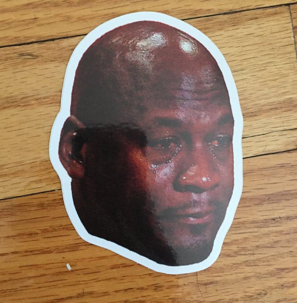 Image of Crying Jordan Sticker