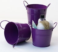 Image of Purple Tin Pot