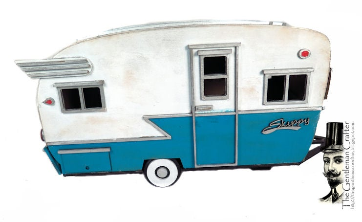 Image of The Vintage Skippy Camper Tutorial-Instant Download