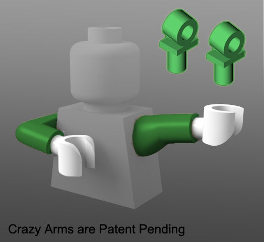 Image of Crazy Arms Straight / Elbow SET -- 25% OFF!