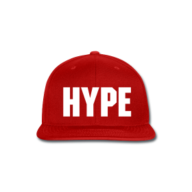 Image of HYPE WORLD RED SNAPBACK