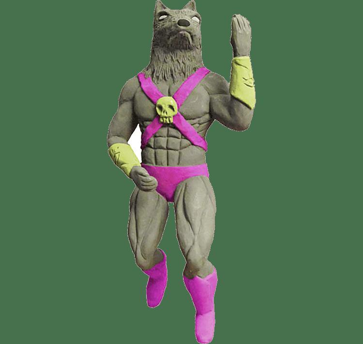 Image of Mystic Wolfman Barfar Figurine