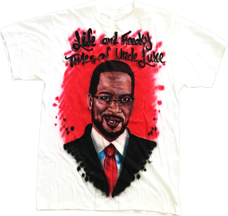 Image of Uncle Luke Airbrushed Shirt