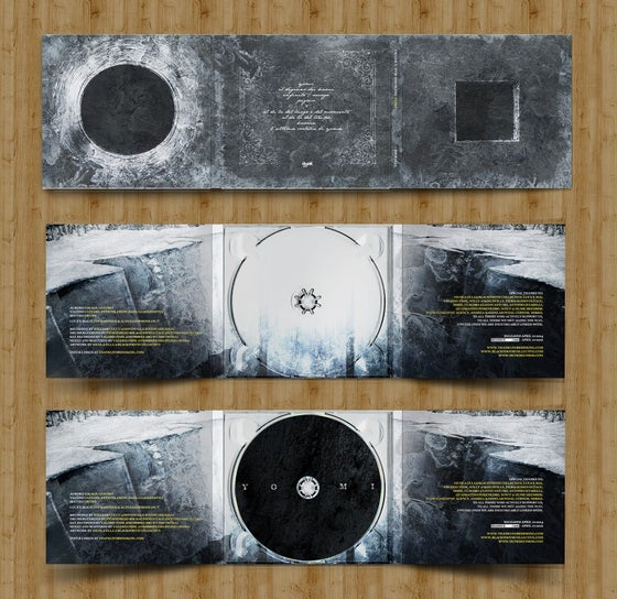 Image of YOMI. Reissue. 100 hand numbered copies by Dunk! Records