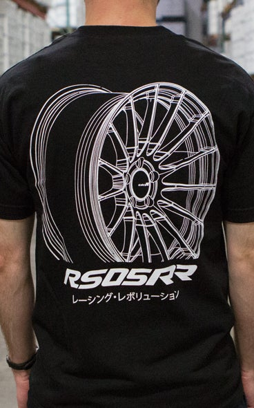 Image of RS05RR T-Shirt Black