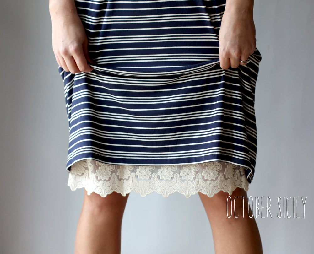 Image of Half Slip Lace Extender! *Style 1* Skirt, Dress S-3XL