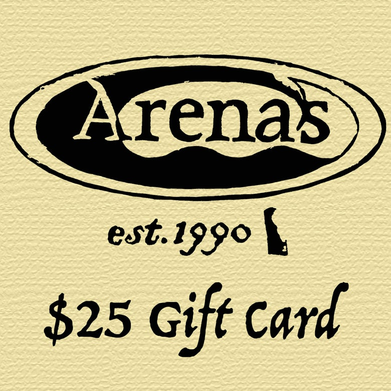 Image of Arena's $25 Gift Card