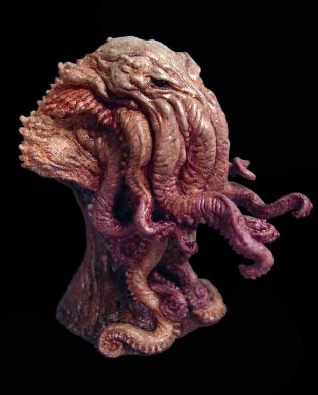 Image of Paul Komoda's Cthulu Mini-Bust Pre-Paint Statue Edition!