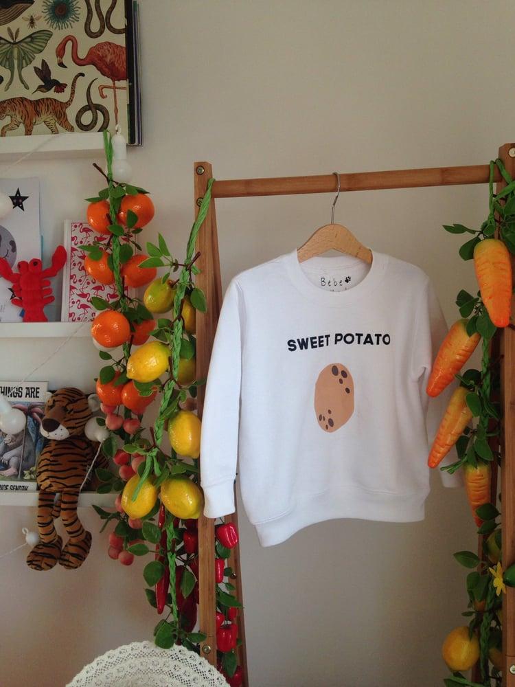 Image of sweet potato sweatshirt