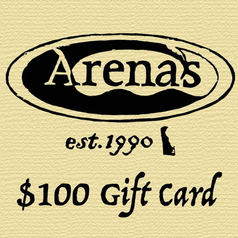 Image of Arena's $100 Gift Card