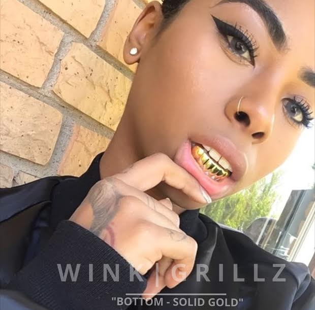 Image of NARCO - SOLID BOTTOM GOLD GRILL