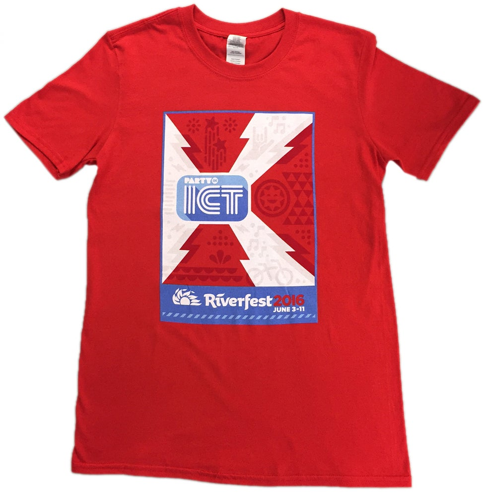 Image of Closeout! Riverfest 2016 Official T-Shirt in Red