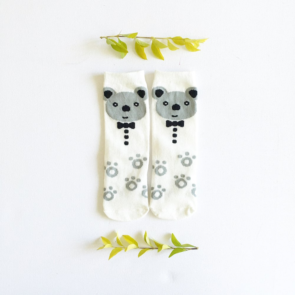 Image of Bow Tie Bear Sock