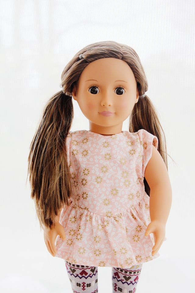 Image of the DOLL MANHATTAN blouse + dress