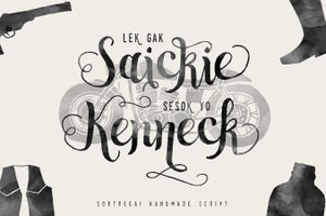 Image of Sortdecai Handmade Script