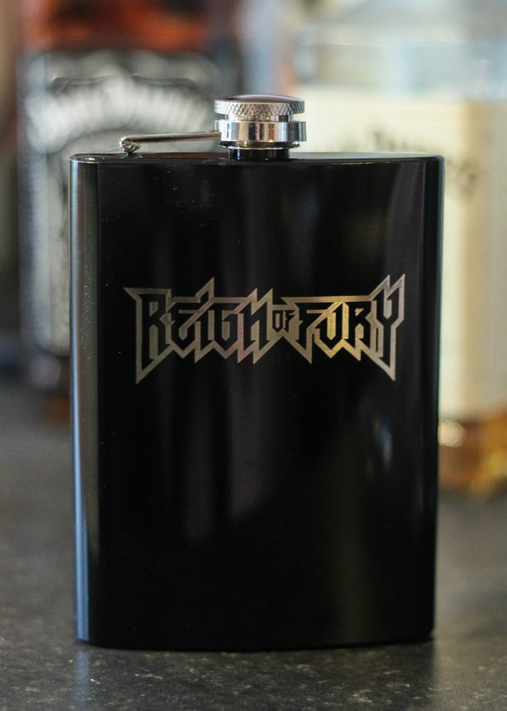 Image of HIP FLASKS (Available in black or brushed steel)