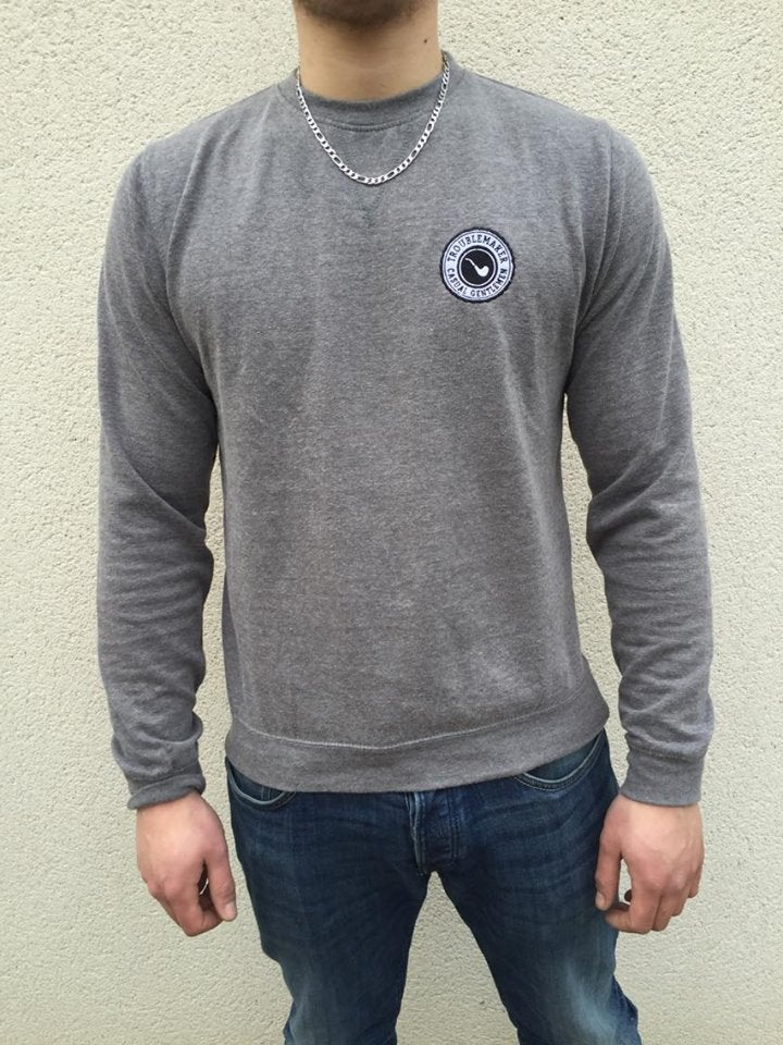 "Image of Sweatshirt ""Hamilton"" Gris Chiné"