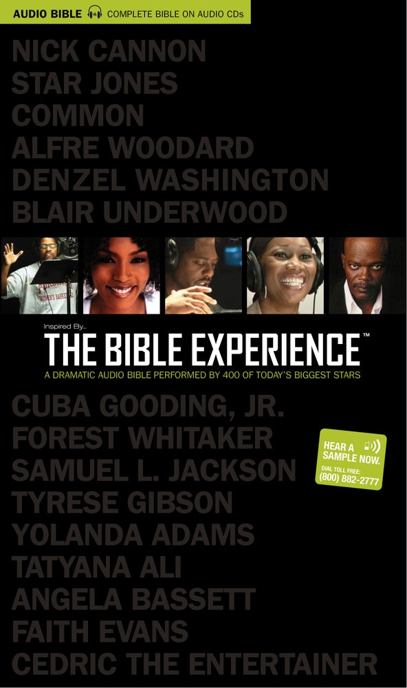 Image of The Bible Experience - Complete Bible CD Set