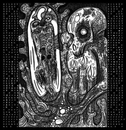 "Image of Silent Scream "" Carrion Screaming"" Gatefold LP ((LAST COPY))"
