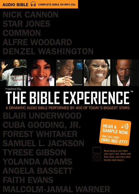 Image of The Bible Experience - Complete Bible MP3 Set