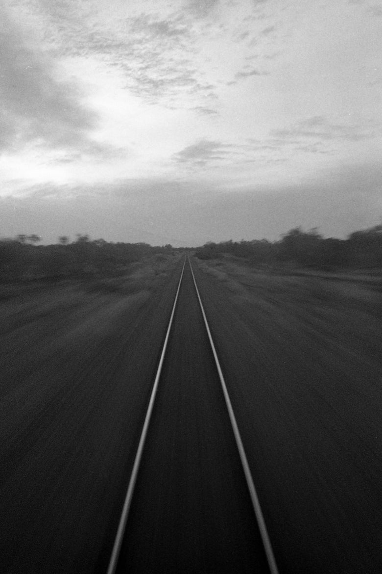 Image of Cloncurry Train Rides Fine Art Print