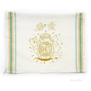 Image of Honey Tea Towel