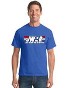 "Image of ""JW&R"" Blue T-shirts"