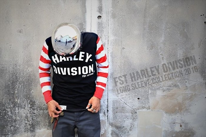 Image of FST HARLEY-DIVISION LONG SLEEVES RDxBK