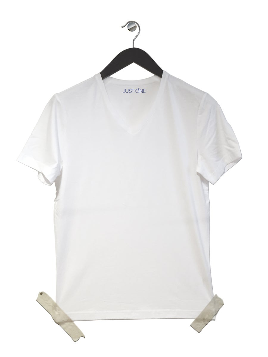 Image of just white (5 shirts)