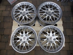 "Image of Genuine Porsche BBS Classic II 2-piece Split Rim 18"" 5x130 996 Alloy Wheels"