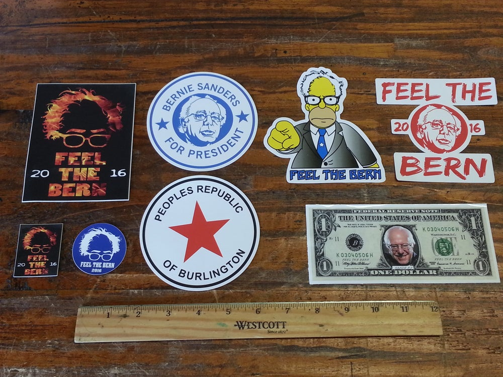 Image of Bernie Sanders Stickers