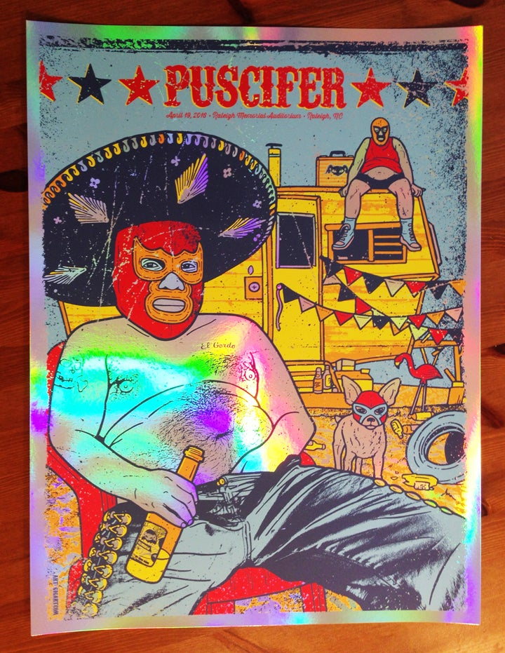 Image of Puscifer Foil Variant