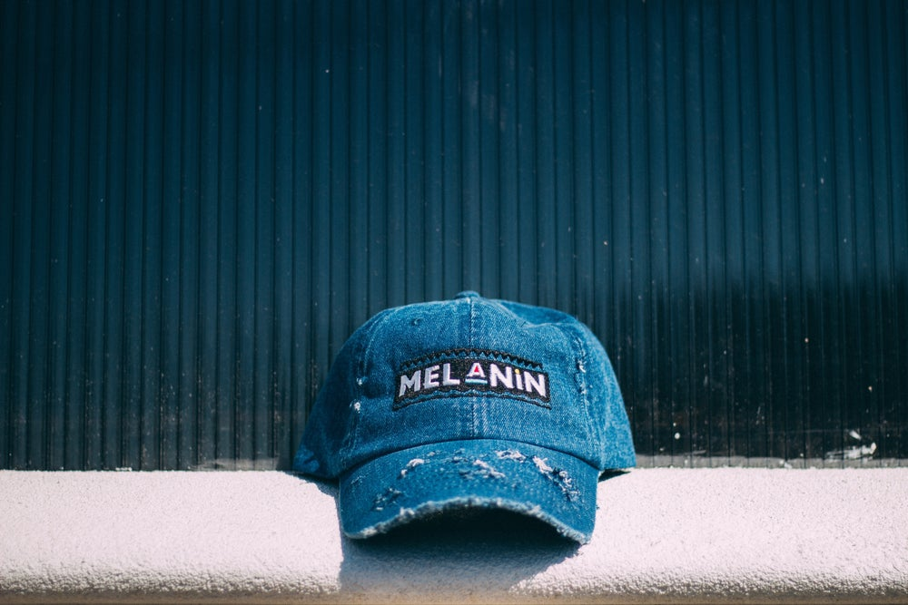 "Image of ""Martin"" Denim Melanin hat"