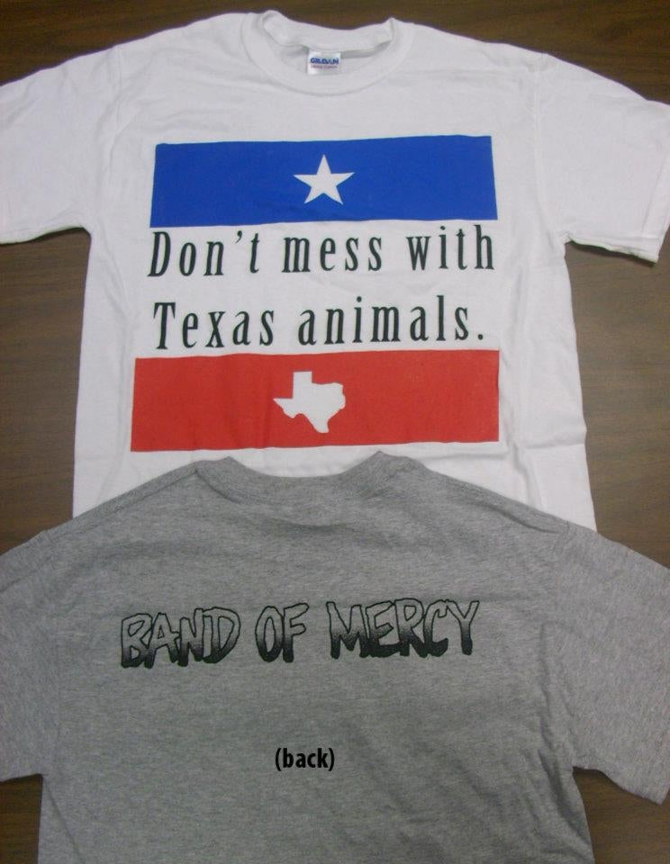 "Image of ""Don't Mess With Texas Animals"" T-shirt"