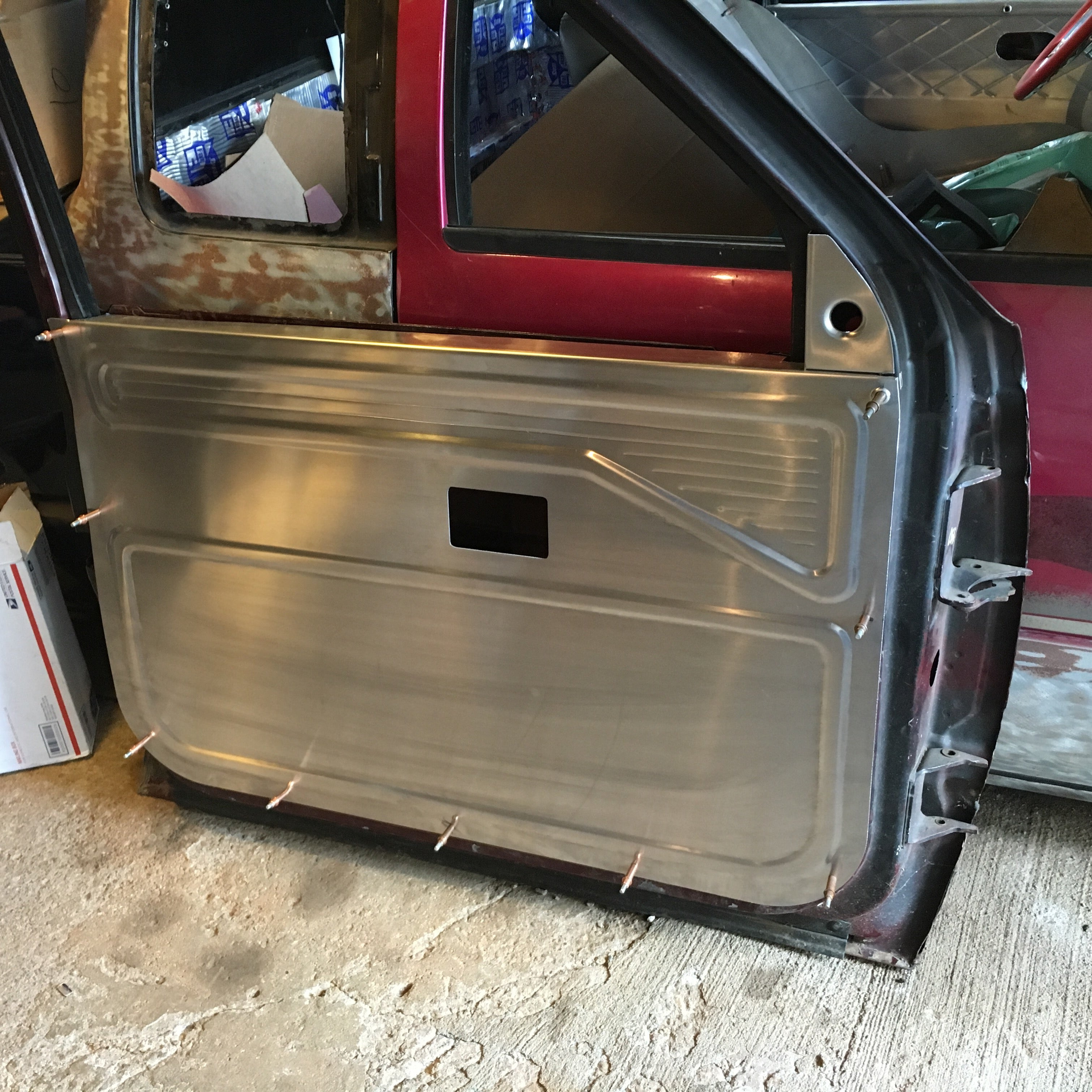 6 Door Truck >> Custom Door Panels | SelfMade Fab