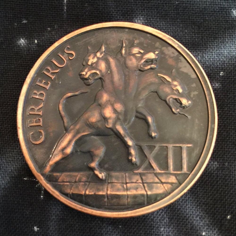 Image of Cerberus 1oz Copper Challenge Coin