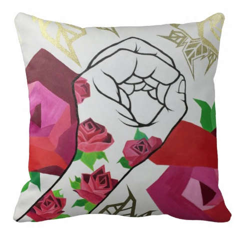 Image of The Love Movement Single Pillow.
