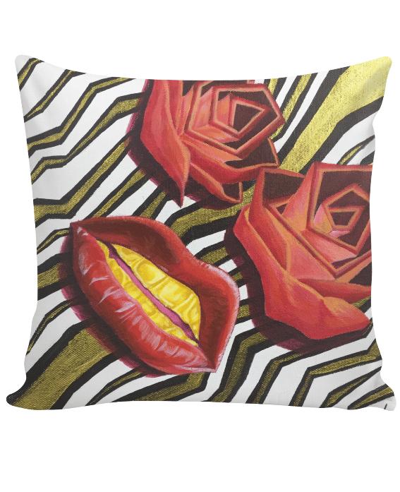 Image of Rose Goldie Series Single Pillow.