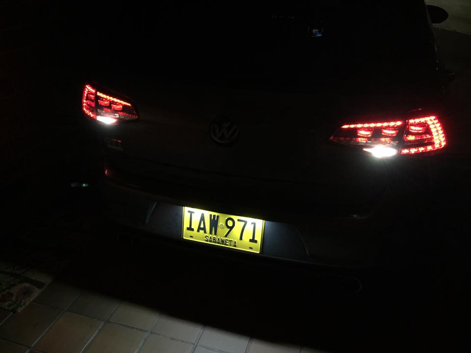 New Reverse Leds For Your Euro Tails Fits Mkvii 2015