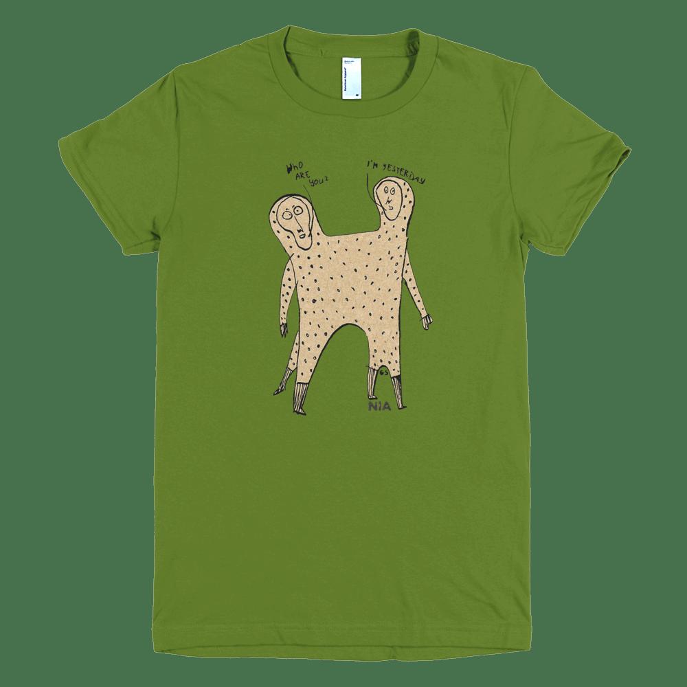 """Image of NIA T-Shirt """"Yesterday"""" (women)"""