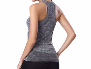 Image of GREY RACERBACK TANK TOP (MATCHES LEGGINGS)