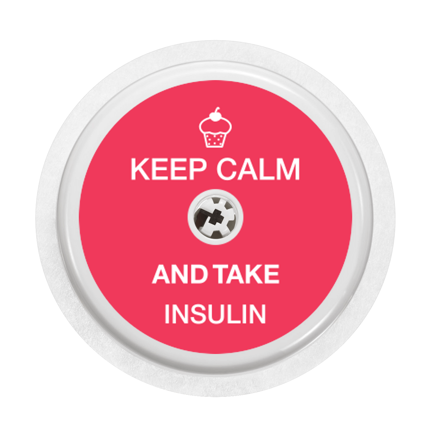 Keep Calm    Freestyle Libre Sticker And Diabetes