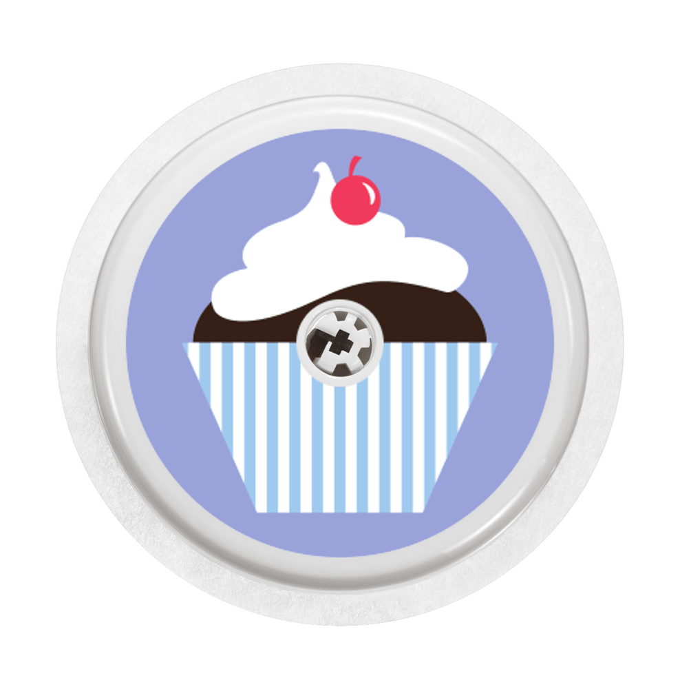 Image of Cupcake Freestyle Libre Sticker
